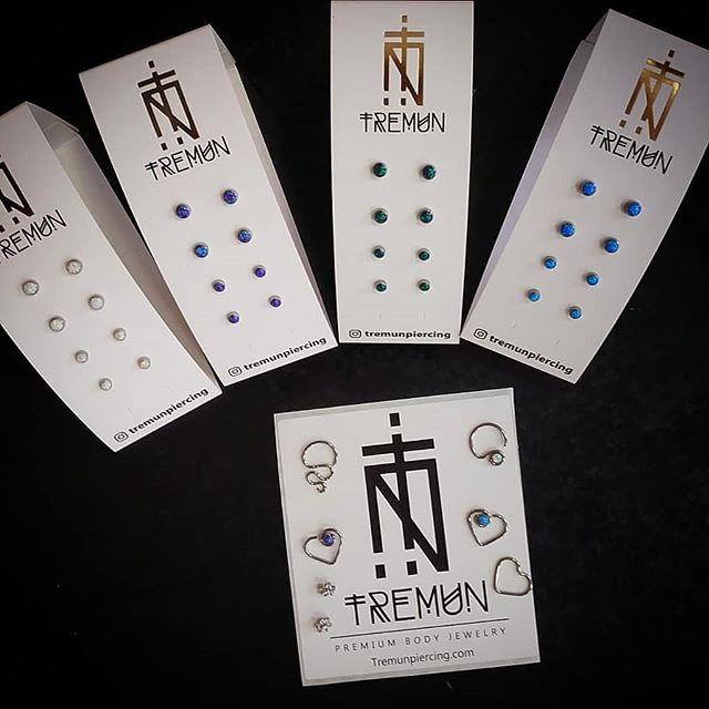 Nuovi finali e gioielli by Tremun - Premium Body Jewelry. Passa te a dare un'occhiata! -
