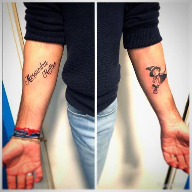 Tatuaggi appena eseguiti da Antonio Blez. -