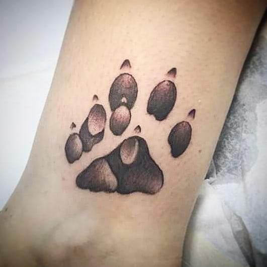 Tatuaggio appena effettuato da Fede. -