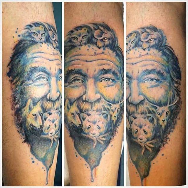 Tatuaggio eseguito da Fede! -