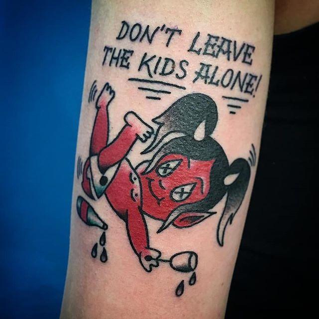 Tatuaggio appena eseguito da Giorgio Iochesini che é stato ospite al Virgoz' Studio la settimana scorsa!