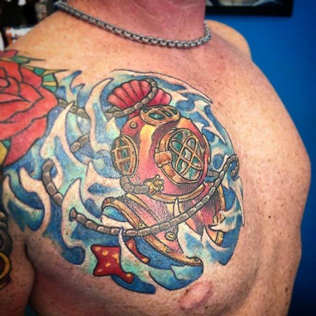 Tatuaggio appena terminato da Fede! -