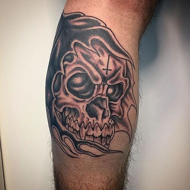 Tatuaggio appena eseguito da Antonio Blez! -