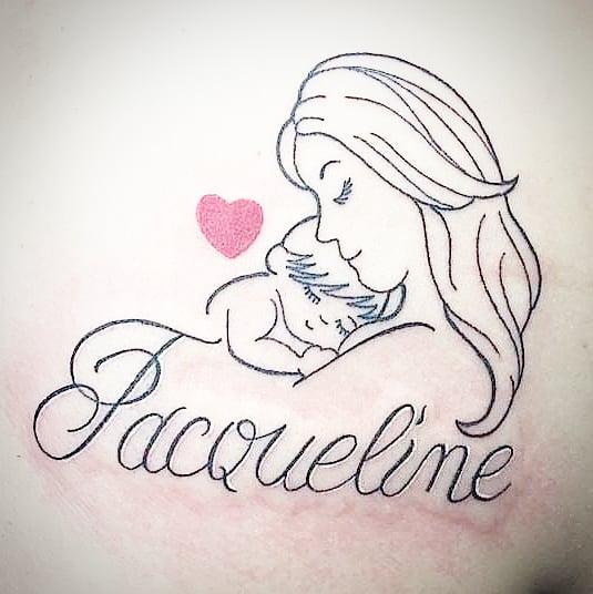 Tatuaggio appena eseguito da Aigor. -
