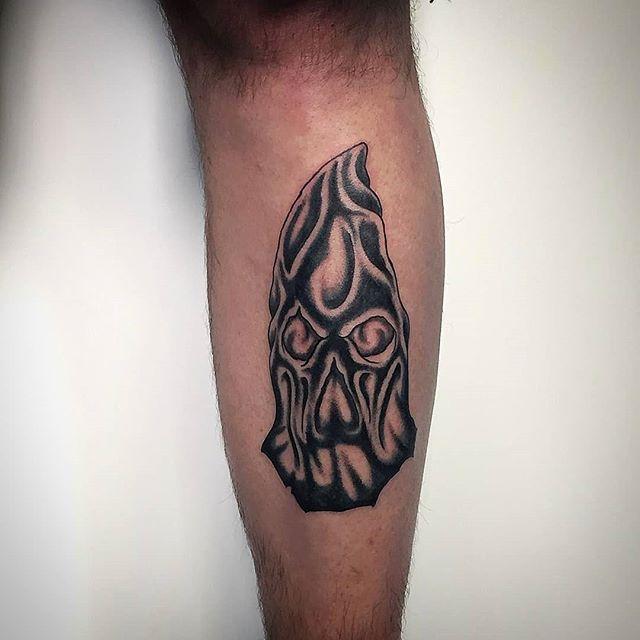 Tatuaggio, boia,appena eseguito da Antonio Blez! -
