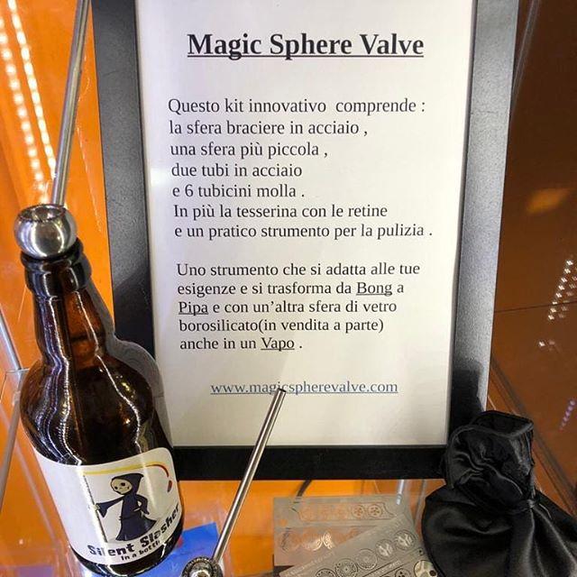 Magic Sphere Valve .......bong, pipa, vaporizzatore, venite a scoprirlo da Virgoz -