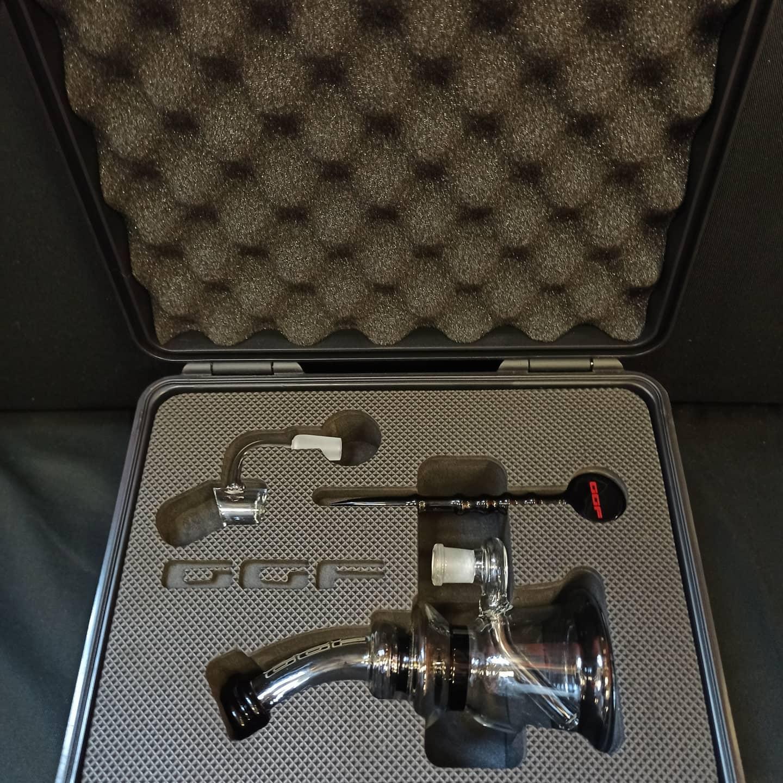 Kit Dab/Ring firmato GGF, pipa ad acqua per oli ed estratti, bellissimo oggetto, regalo perfetto, ottimo prezzo, buon divertimento -