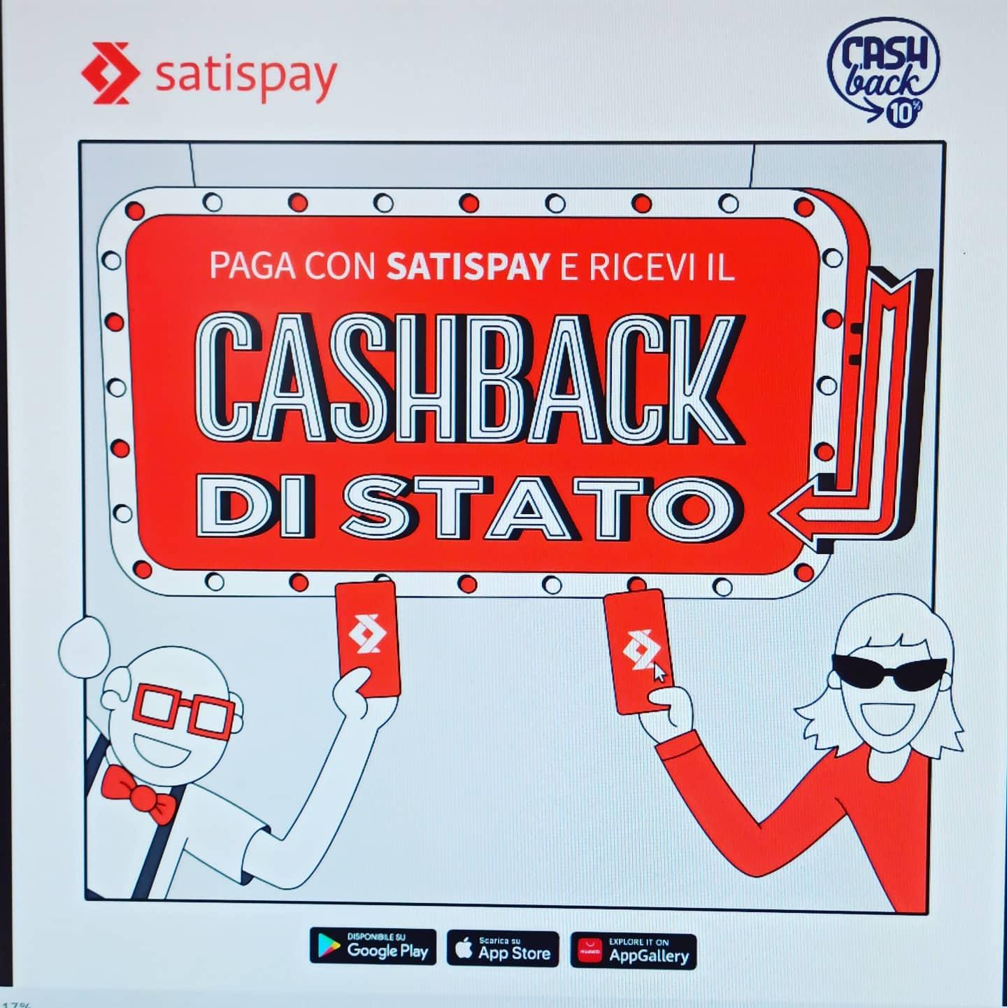 Da Virgoz paga con SatiSpay ricevi il cashback di stato in più grazie al super cashback le 100000 persone che avranno effettuato il maggior numero di pagamenti digitali entro il 30 giugno 2021, riceveranno un premio di 1500€ -