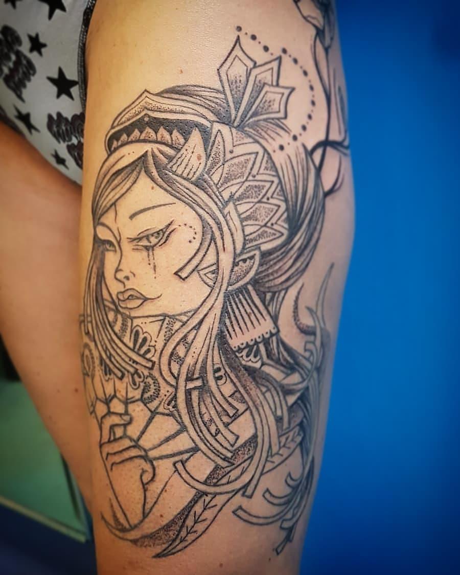 Tatuaggio in lavorazione eseguito da Valentina! - valentina_morandi_tattoo