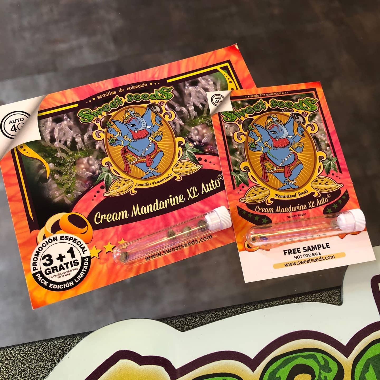 Super offerta su tutti i pacchetti di semi sweetseeds  3+1 e 5+2 un seme omaggio fino ad esaurimento scorte. Piantatela, punto è basta😂😂😂 -